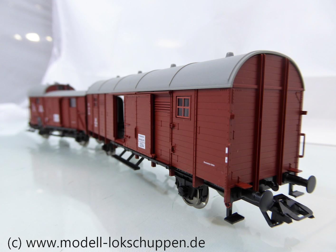 Fleischmann 5935  DB III GIIh 12/Gilvwhh 08 Leig-Wageneinheit