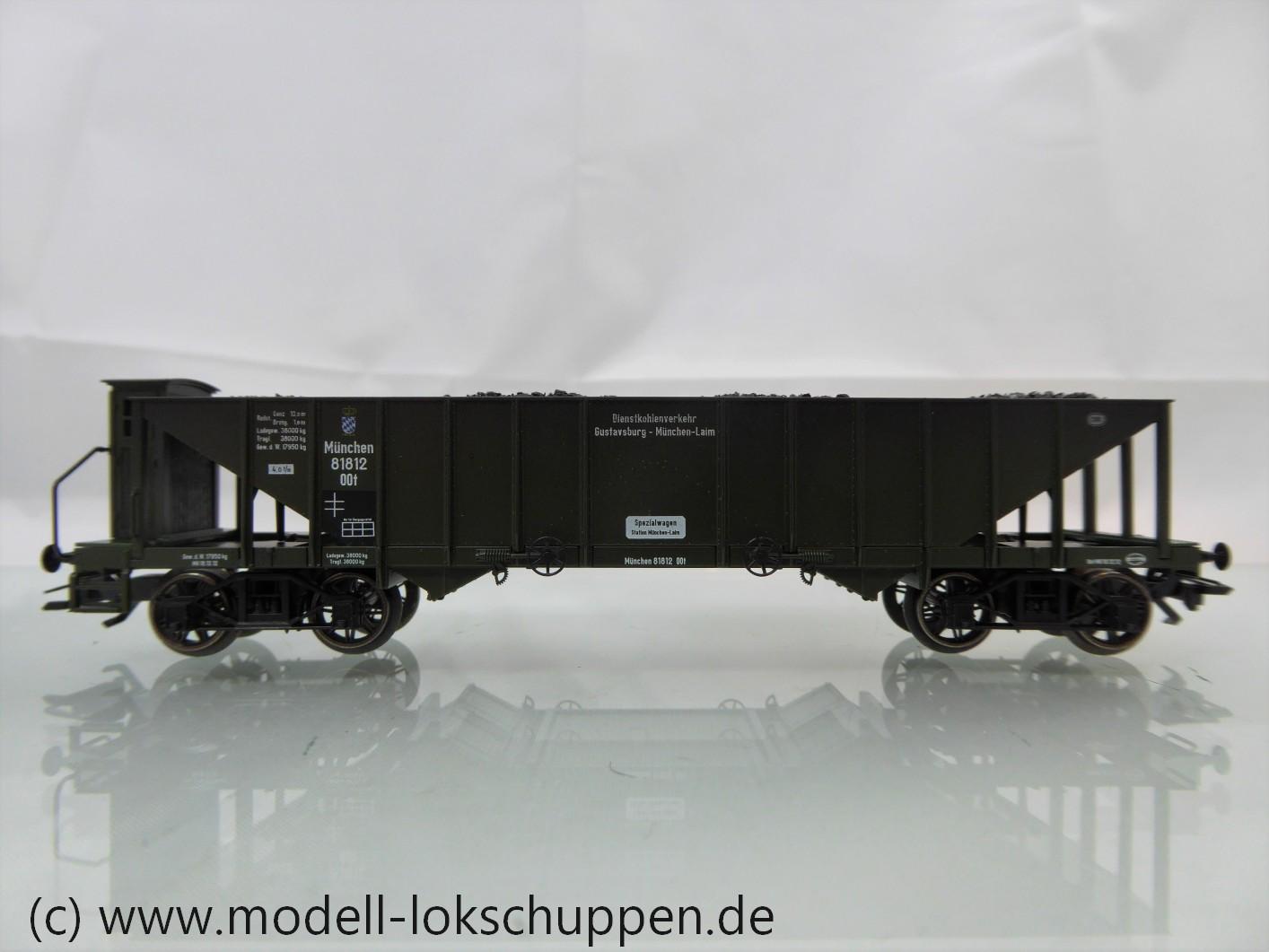 Trix 24313 Kohletrichterwagen OOt - K.Bay.Sts.B