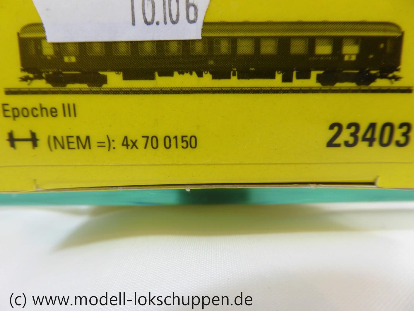 Trix 23403 /Märklin 43940 Halbspeisewagen, 2. Klasse Epoche 3 der DB