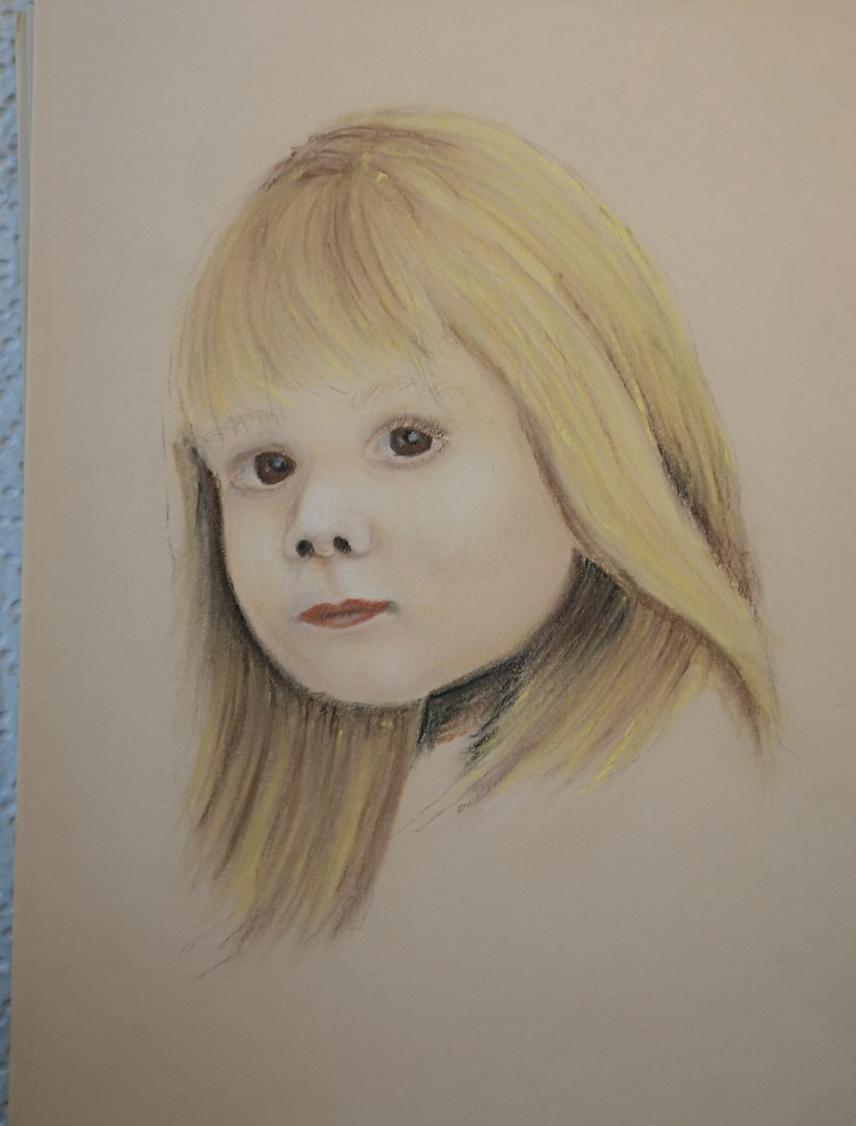 Portrait Pastellkreide