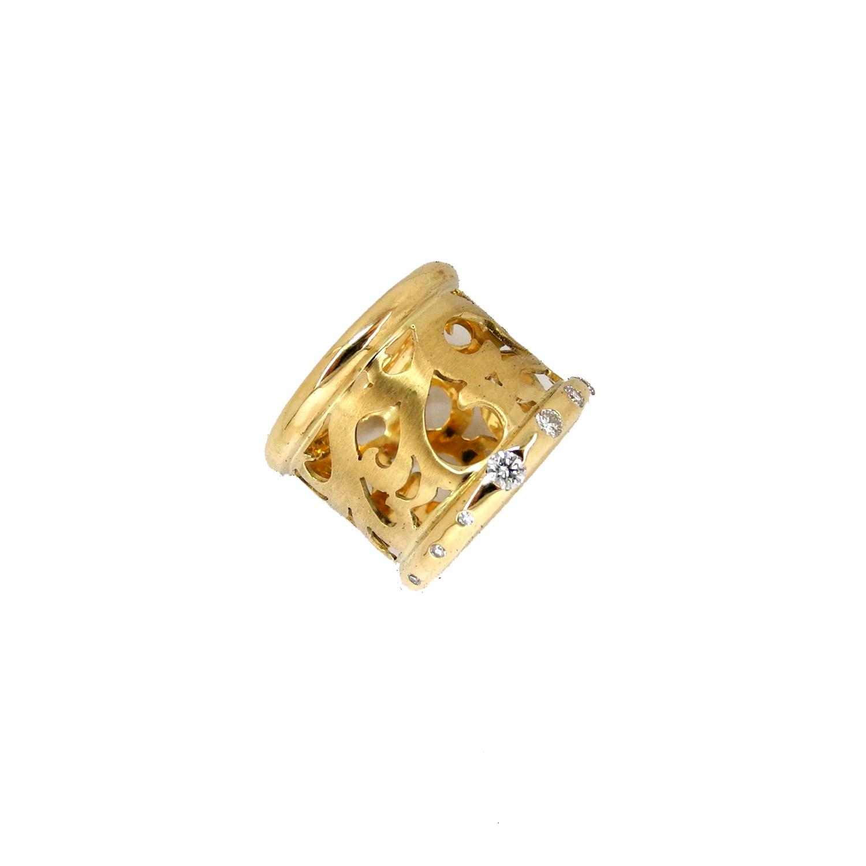 Ring Oriental Gold 750