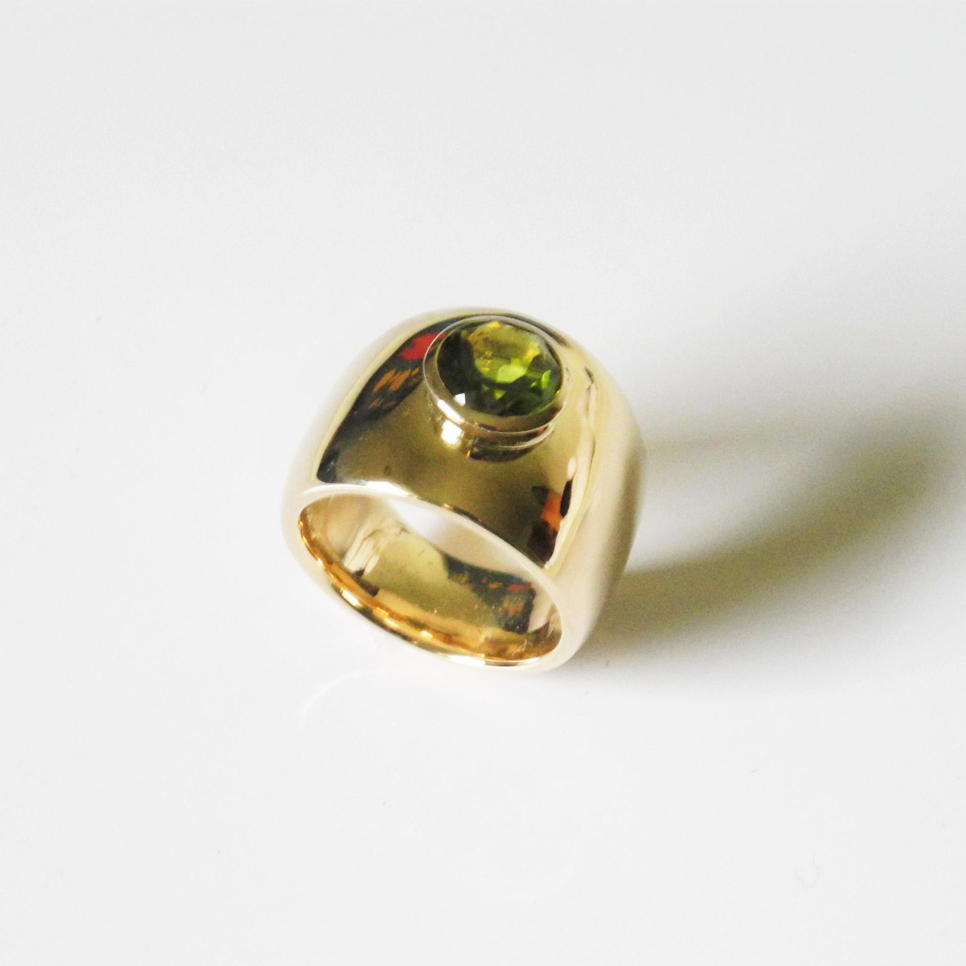Ring mit Peridot Gold 750