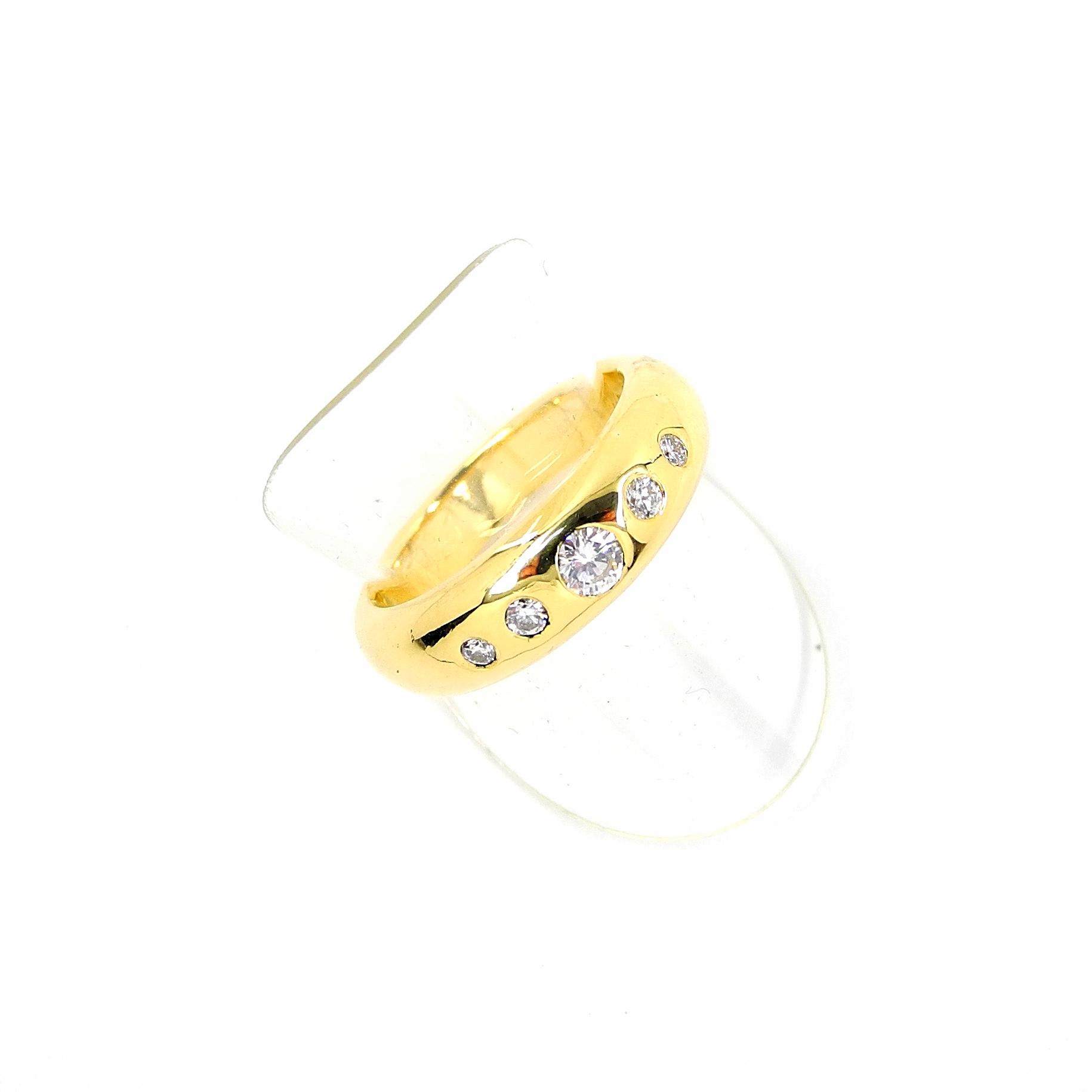 Bandring Brillanten Gold 750