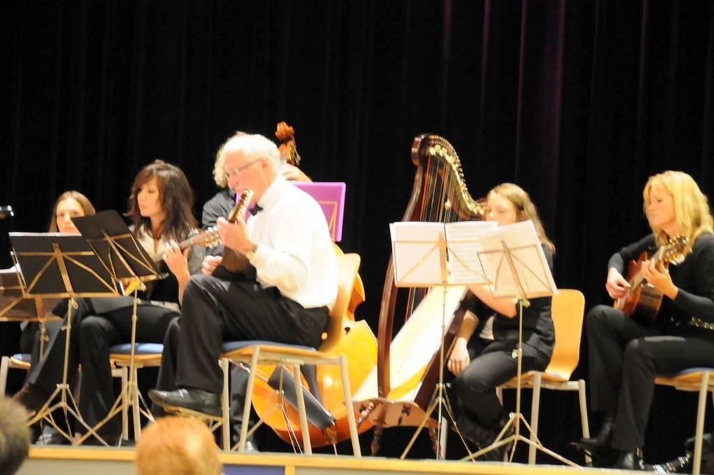le groupe des mandolinistes de Malmedy
