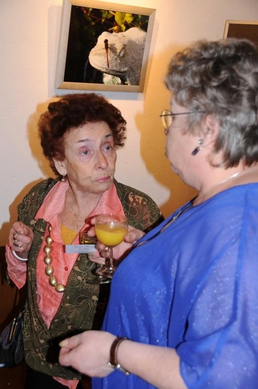 Vernissage , Francine Fourneau , peintre sur oeufs