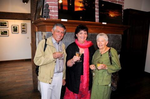 Vernissage Malmedy, Marie-Pascale et des invités