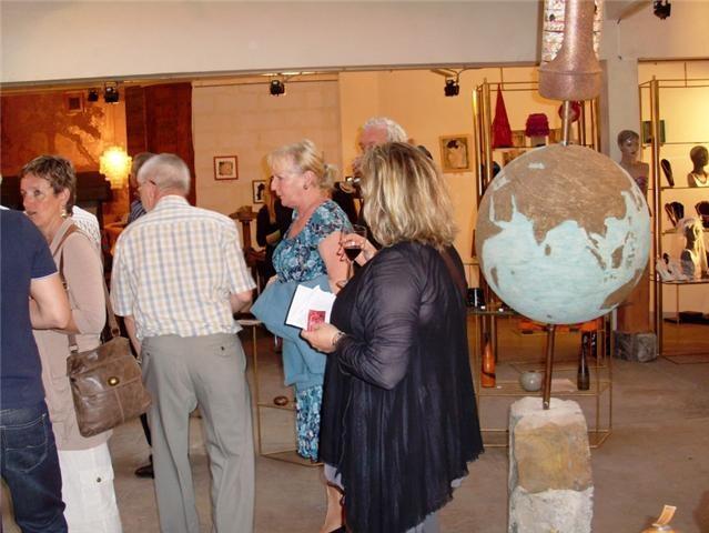 Vernissage exposition Galerie Clairobscur, Liège 2010