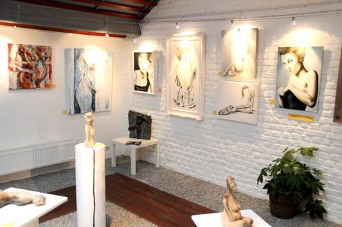 Vernissage expo Rêve de femmes, galerie Art Dense. Ans 2011