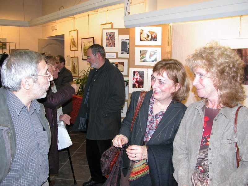 Exposition artistes et artisans Malmédiens  à  Malmédy 2004