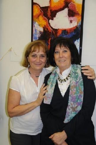 Exposition galerie Trigone Liège 2009, Dominique et Marie-Pierre