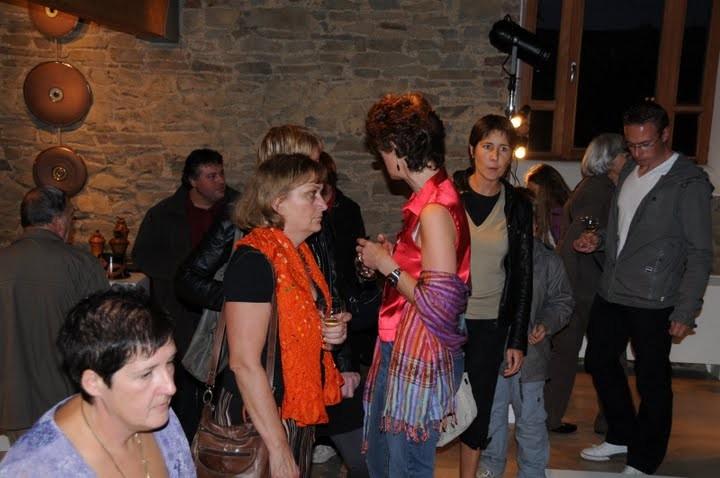 Vernissage exposition Chapelle de Hansez, Olne 2009