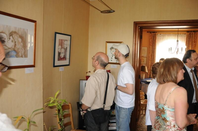 Exposition galerie Intimerrance à Montigny-le-Tilleul 2008