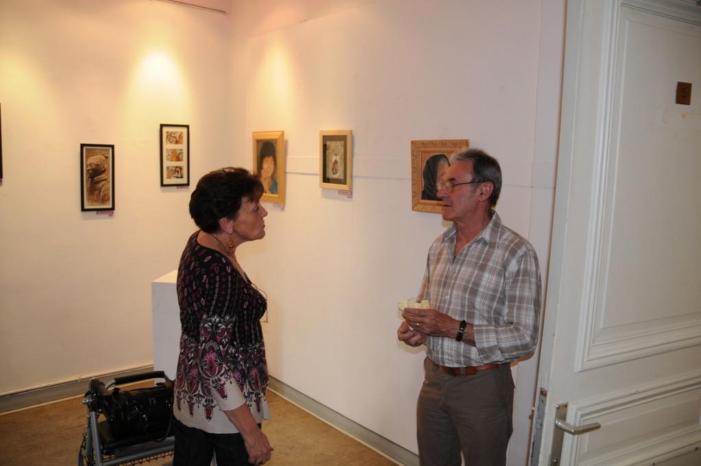 Vernissage exposition Galerie Trigone 2010