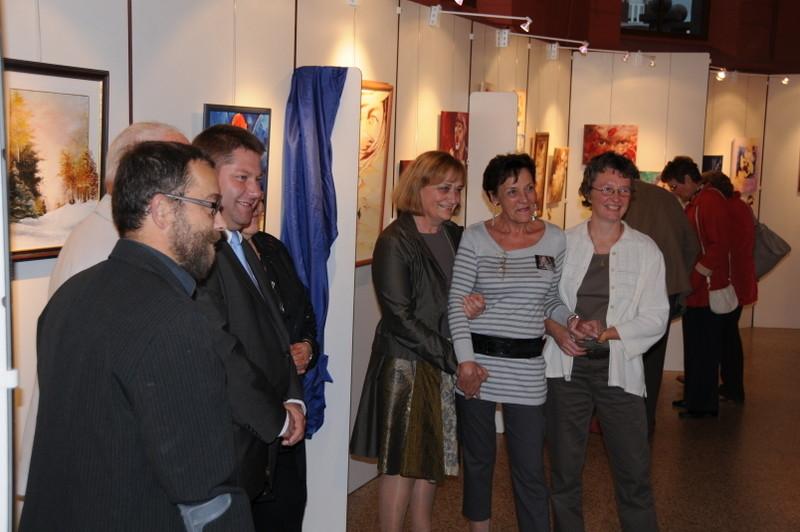 Vernissage exposition Chapelle des Sépulcrines Visé 2010