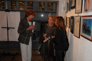 Vernissage exposition galerie Fayla , Bruxelles 2008