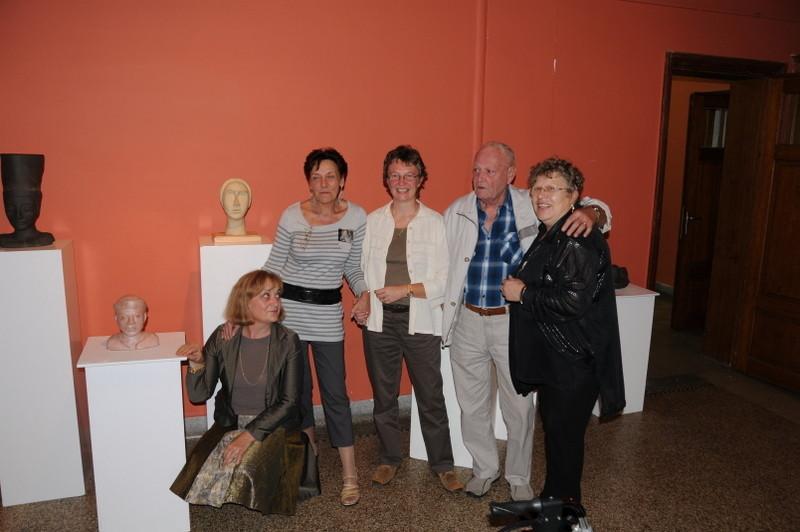 Vernissage exposition Chapelle des Sépulcrines, les artistes