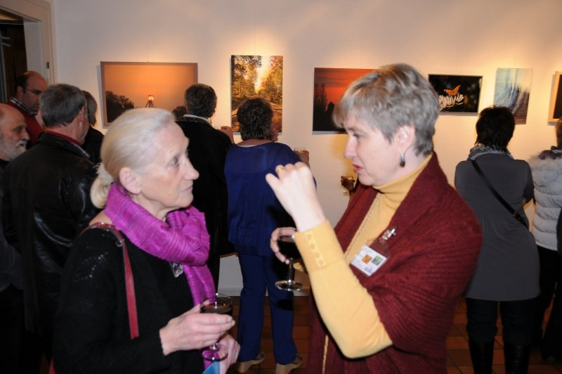Vernissage, Chantal Deriv'h , photographe