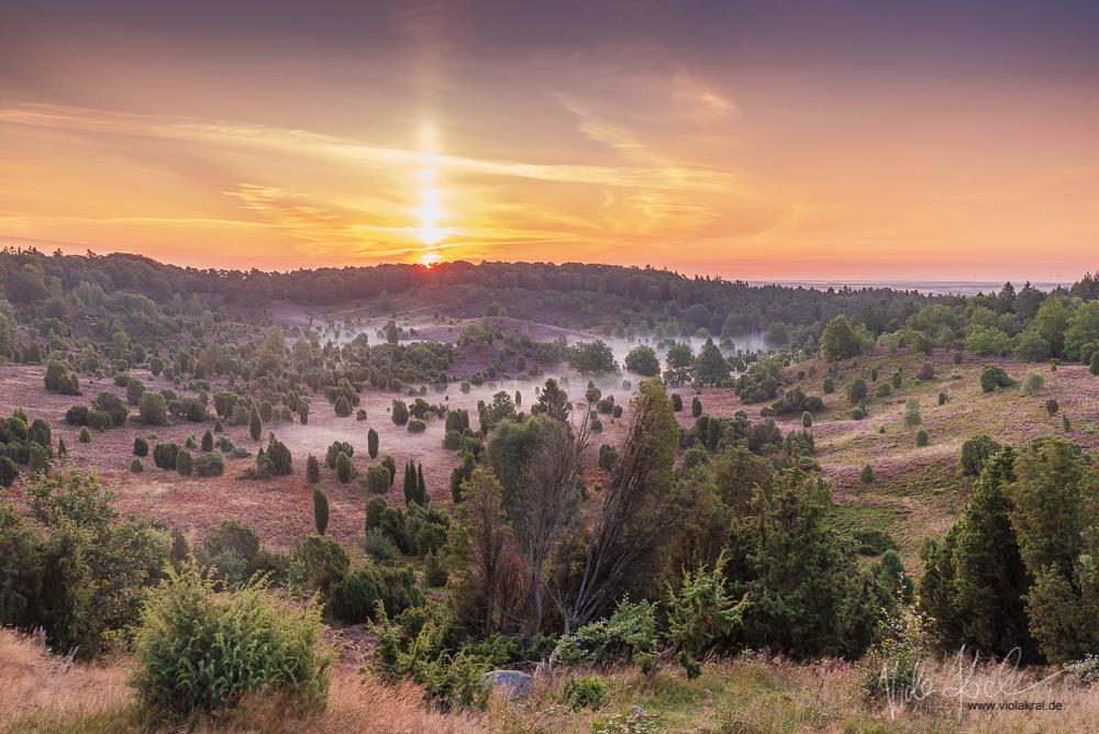 Sonnenaufgang über dem Totengrund