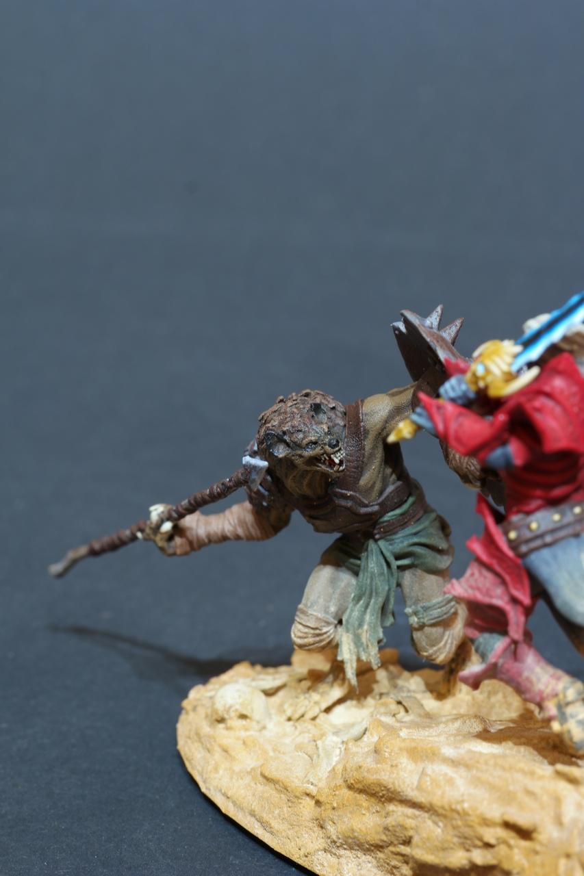 Wight vs Gnoll Duel