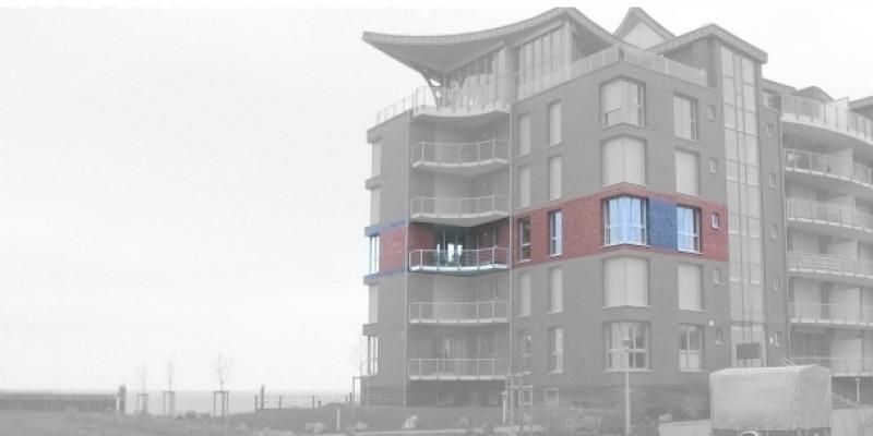 Wohnung liegt im 2. Stock