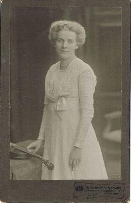 Margarete Schweikert 1909, Badische Landesbibliothek