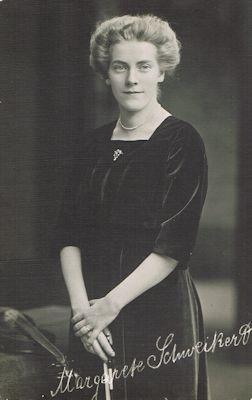Künstlerpostkarte Margarete Schweikert, 1912, Badische Landesbibliothek