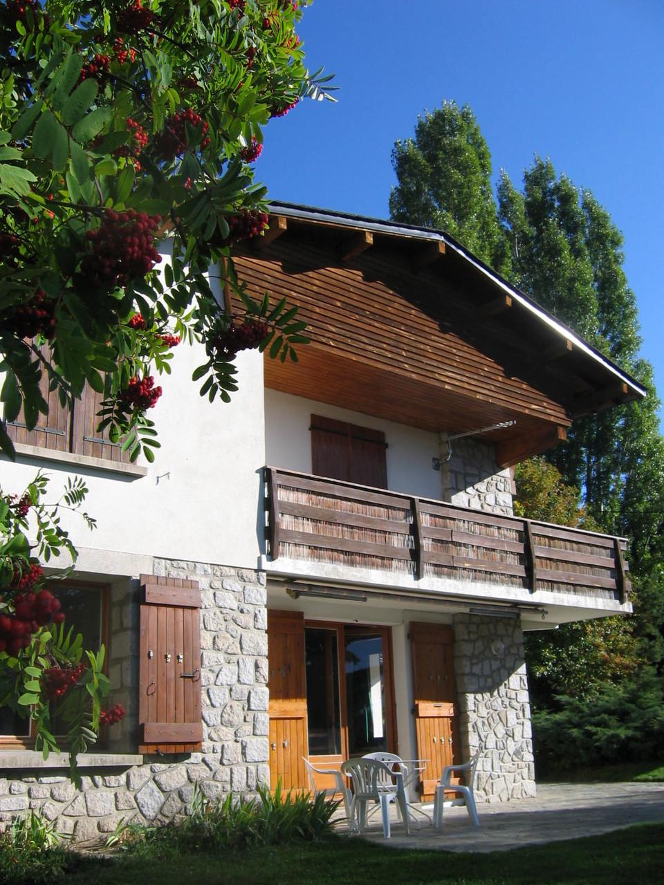 Terrasse et balcon  [Chalet Aspones - Font-Romeu]