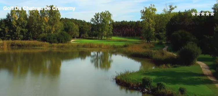 Golf Cheverny, l'étang de la Rousselière