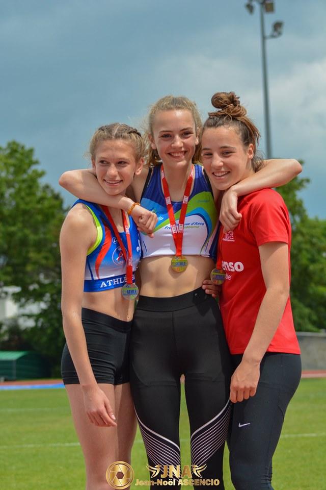 podium minime féminine
