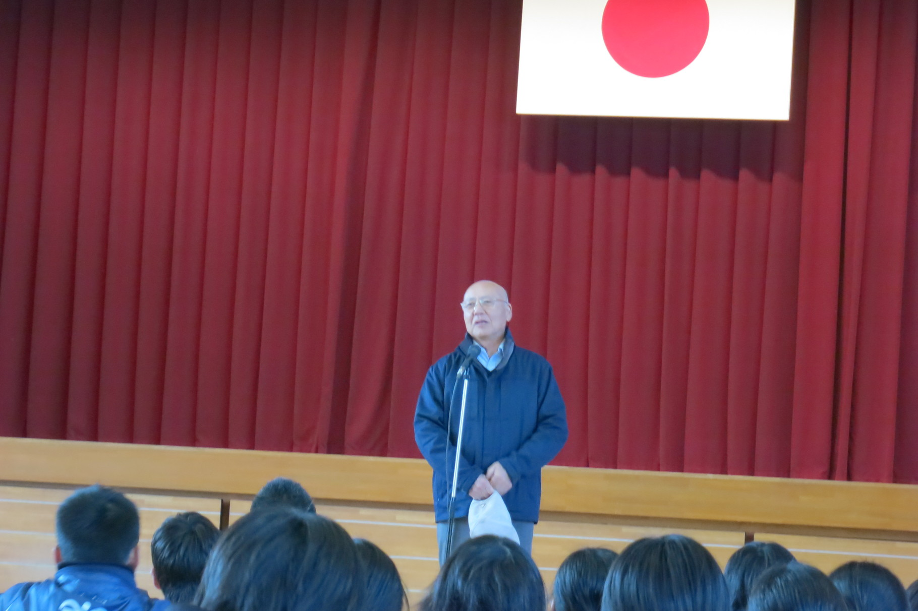 菅野教育長さまにもご挨拶いただきました