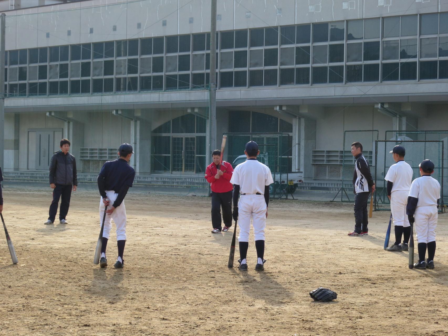 ソフトボール、野球教室