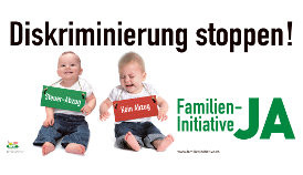ALLE Familien sollen Steuerabzüge machen können