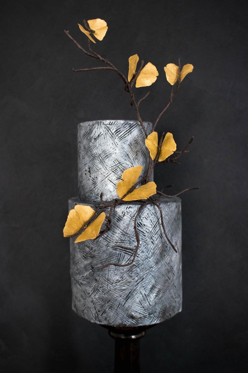 Goldene Ginko-Schmetterlinge (Foto: Süße Poesie)