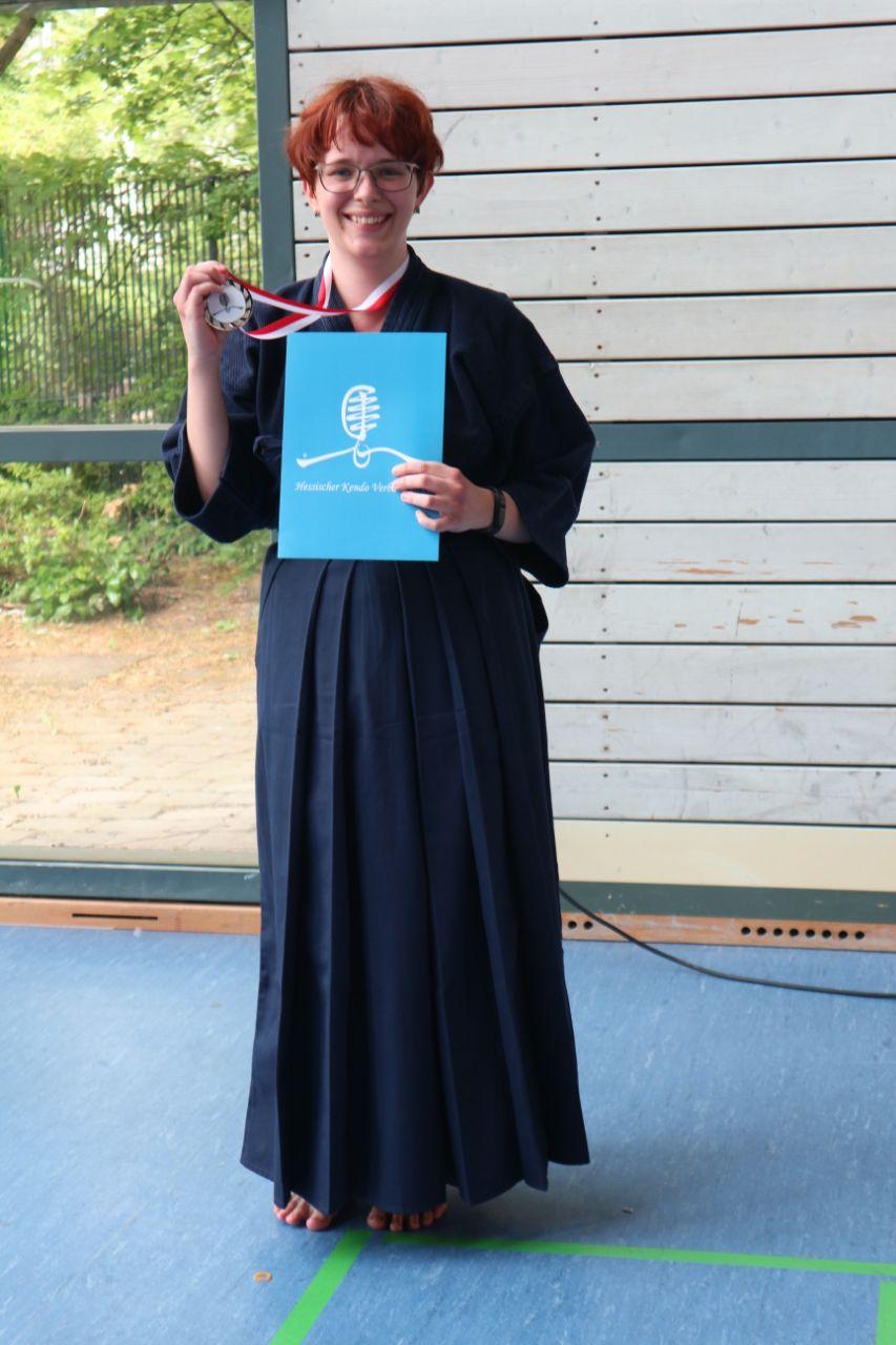 offenen Hessenturnier 2018 - Glückwunsch an Sabrina zum 2. Platz in der Kategorie Suburi!