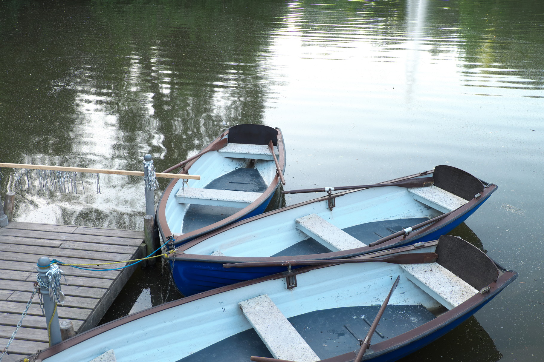 Boote am Kurpark