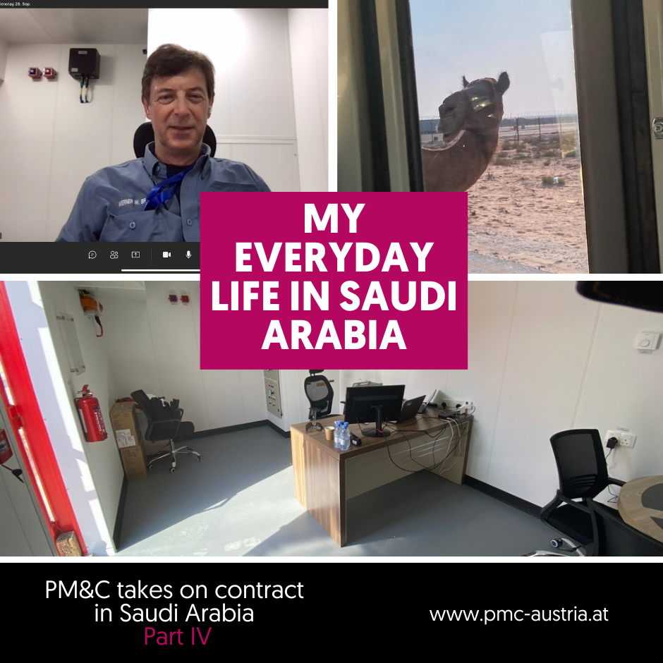 Stories from everyday life in the project: My everyday life in Saudi Arabia