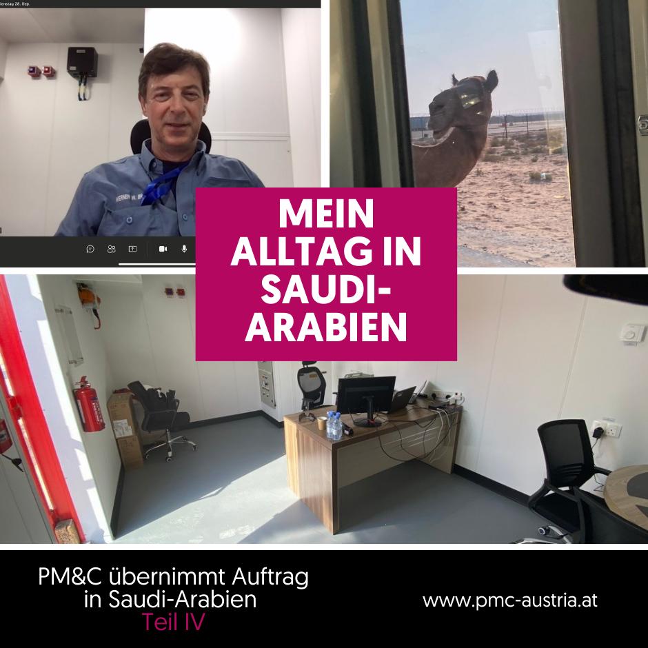 Geschichten aus dem Projektalltag: Mein Alltag in Saudi-Arabien