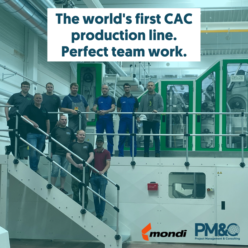 The world's first CAC production line – a sample of world-class project teamwork