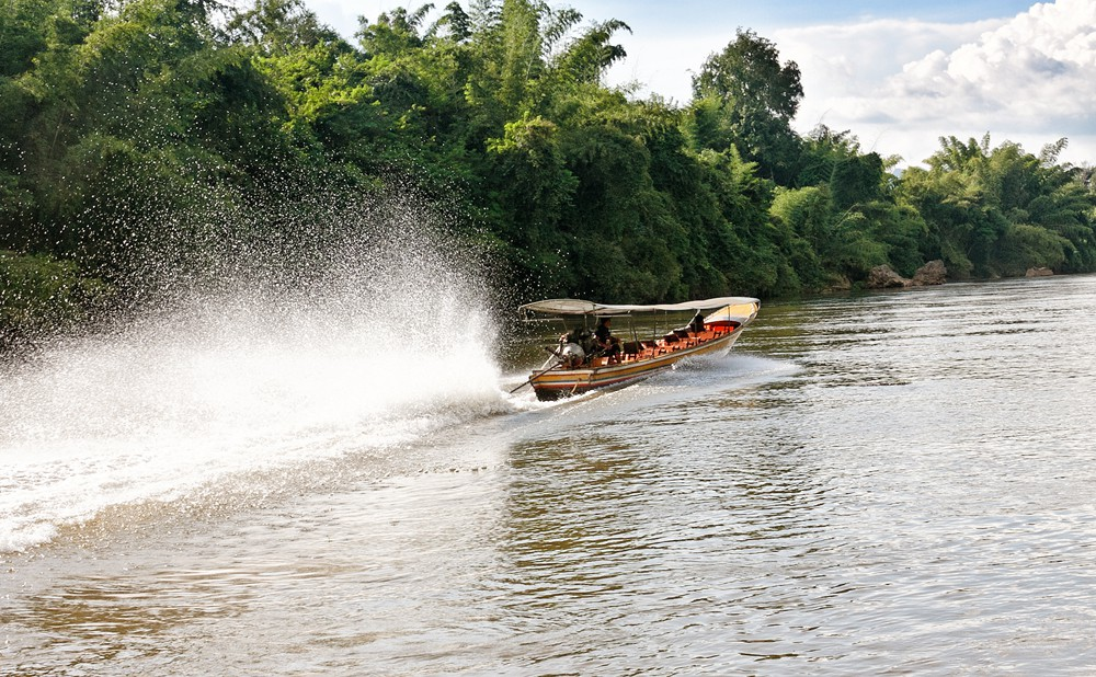 Bootsfahrt auf dem River Kwai