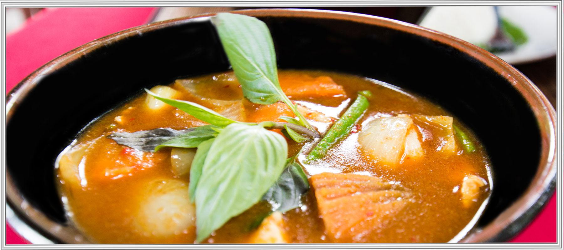 Gemüsecurry aus Malaysia