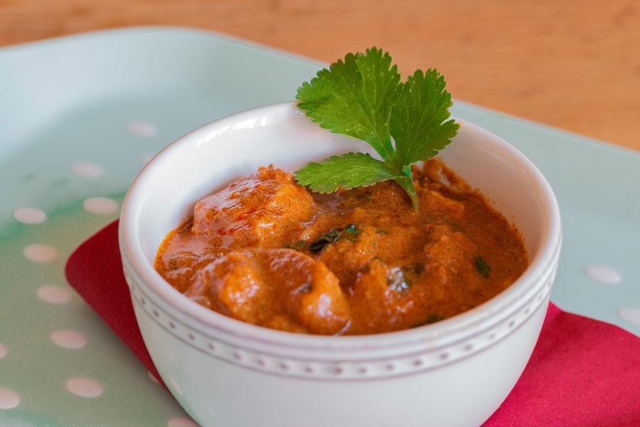 Köstliches Chicken Tikka Masala ♥ Indisches Currygericht-Bild © Jutta M. Jenning - www.mjpics.de
