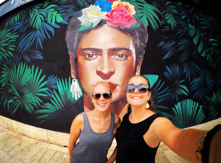 Foto mit Frida