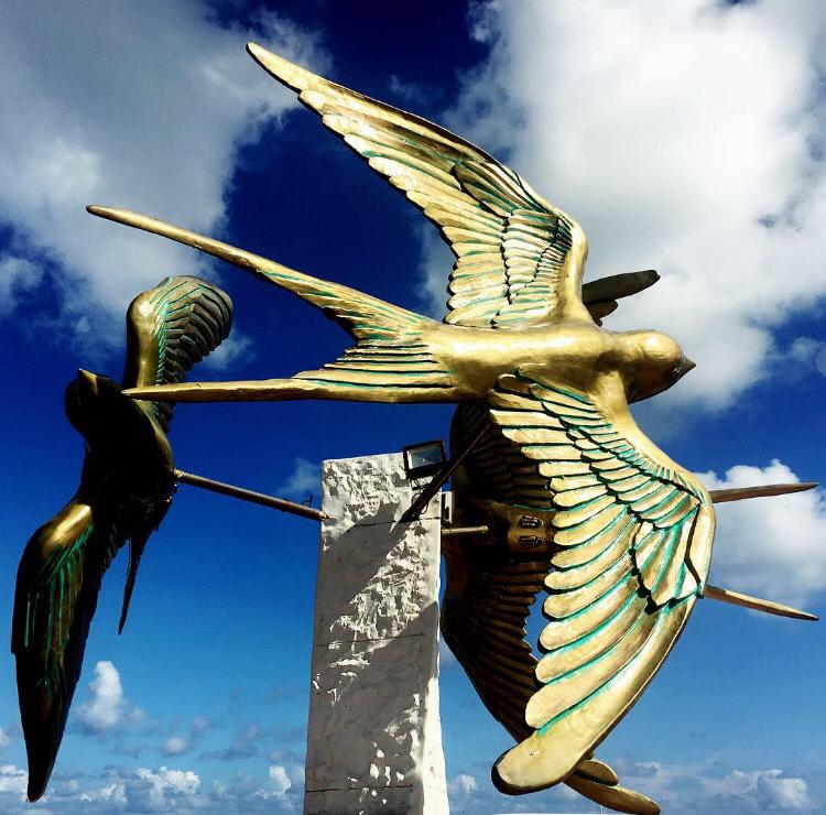 """Cozumel ist die """"Isla de las Golondrinas"""", Insel der Schwalben"""