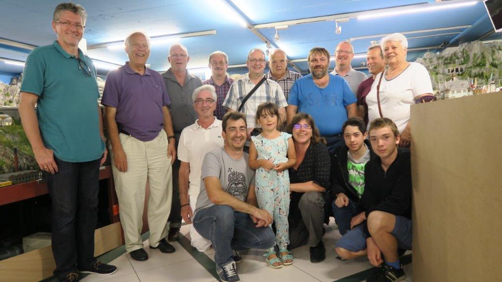 10.09.2016 - Modelleisenbahnclub La Chaux de Fonds, Leitung Jean Daniel Addor