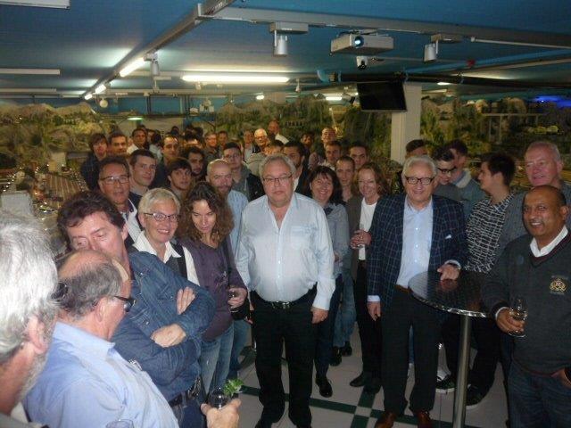 13.11.2015 -  Jahresessen Wild Electric AG, Luzern  - Org. Heinz Wild