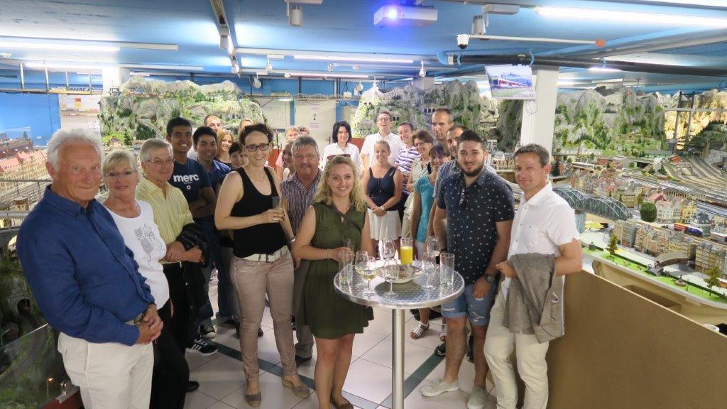 01.07.2016 - Beat Müller's Pensionierung mit seinen Arbeitskolleginnen und Kollegen