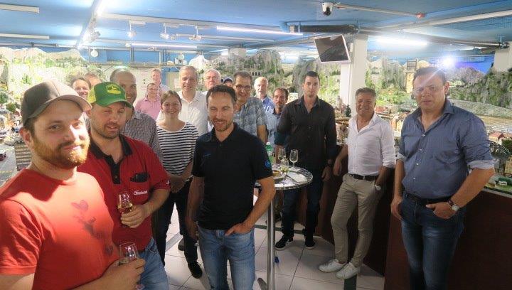 15.06.2018 - Teil-Aufrichte Lopper-Tunnel 1, Gastgeber: Firma Vanoli Immensee