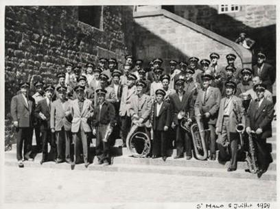 1959 - L'harmonie à Saint-Malo
