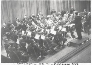 Concert de Ste Cécile - décembre 1962