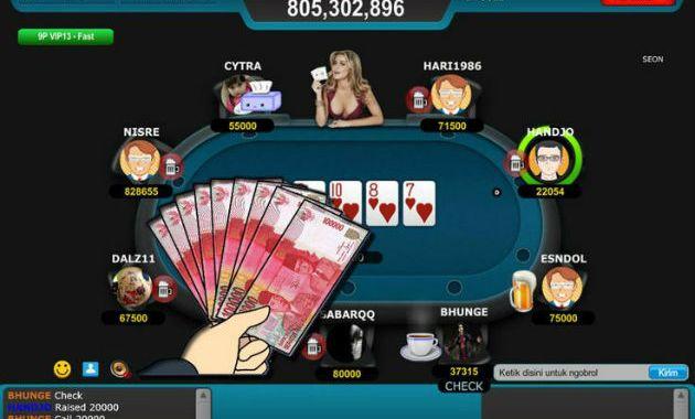 Poker Online Uang Asli Terbaru Judi Qq Dominoqq